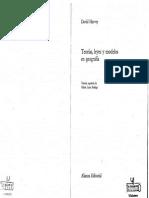 Harvey Teorías, Leyes y Modelos en Geografía 1