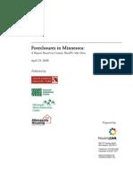 MN Foreclosure Report 042808