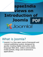 SynapseIndia Reviews on Introduction of Joomla