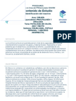 Incontinencia Fecal Revision