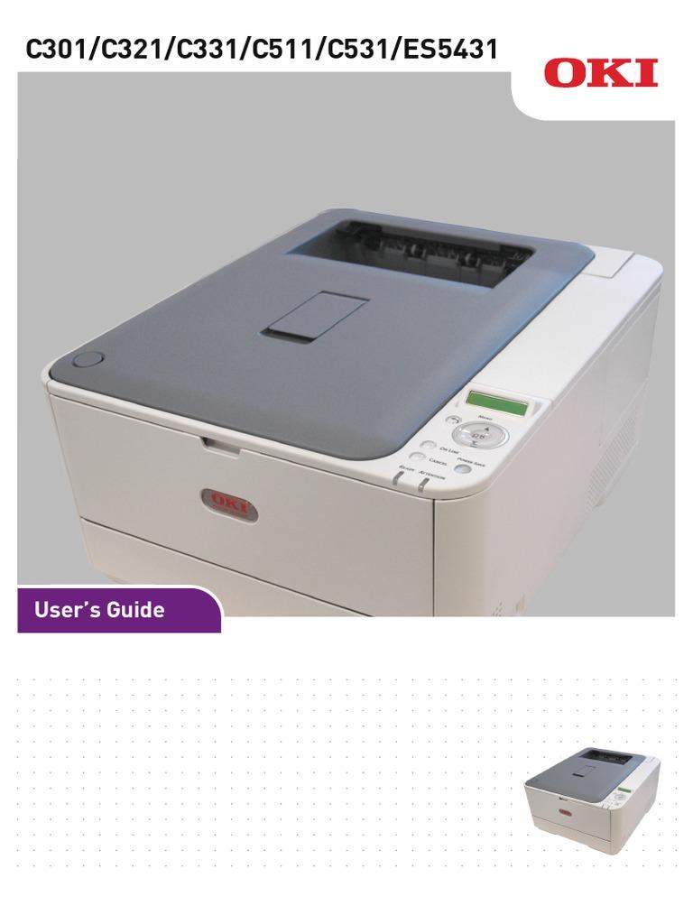 C331 C531 Users Guide En | Printer (Computing) | Microsoft
