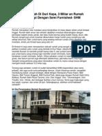 Dijual Rumah Di Duri Kepa, 3 Miliar an Rumah Dilengkapi Dengan Semi Furnished- SHM