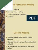 Tehnik Pembuatan Mading_KEKER