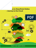 Migration to SharePoint Online Journey to the Cloud