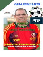 i Torneo de Fútbol 8 Ginés Meléndez