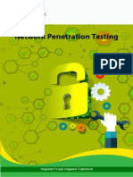Network Penetration Testing - Happiest Minds