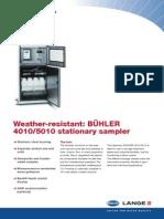 BN4010.00.11511 Sampler Buhler Technical Data