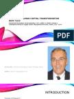 Seminar in Human Capital Transformation