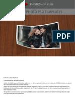 Folded Photo PSD Templates
