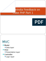 SynapseIndia Feedback on Cake PHP Part 1