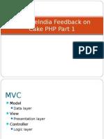 SynapseIndia Feedback on Cake PHP Part 1