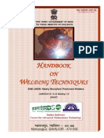 Draft Handbook on Welding Techniques