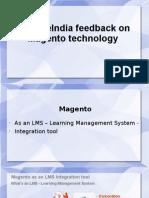 SynapseIndia Feedback on Magento Technology