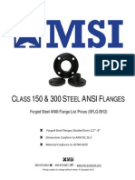 Forged steel flanges PriceList