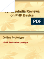 SynapseIndia Reviews on PHP Basics