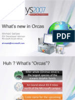 What New in Orcas