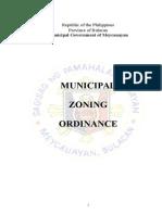 Zoning Ordinances - Meycauayan Bulacan