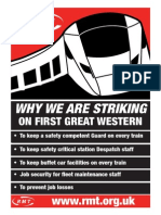 First Great Western - Why we are striking