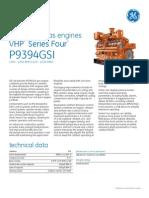 Waukesha* gas engines VHP* Series Four* P9394GSI