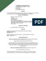 Jobswire.com Resume of kflint2003