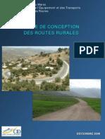 Guide de conception des routes