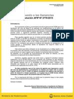 Comu UCCOP Nº 608 - Impuesto a Las Ganancias Resol 3770-15