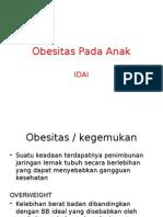 Obesitas Pada Anak - IDAI