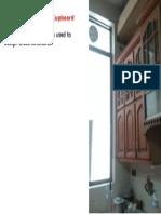 Design of Wooden Cupboard