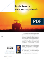 17.Reforma Fiscal, Retos a Enfrentar en El Sector Primario