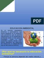 EDUCACION AMBIENTAL diapo