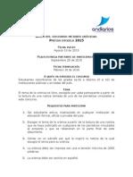Bases Del Concurso Mejores Crónicas Prensa Escuela 2015 Agosto 20