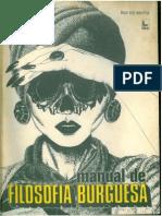 Manual de Filosofia Burguesa _ Brito -1976