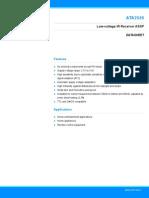 Atmel 4905 IR Control ATA2526 Datasheet