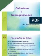 Quinolonas y Fluoroquinolonas Mtra Rodrigo Guzman