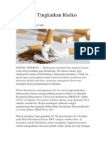 Merokok Tingkatkan Risiko Karies