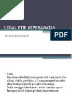 Legal Etik Keperawatan