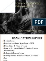 examination of skeletal remains-skull