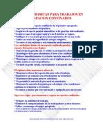 Reglas Basicas Para Trabajos en Espacios Confinados[1]