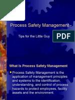 Process Safety Management Presentation