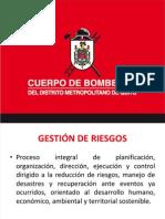 Gestion de Riesgos Del Cuerpo de Bomberos de Quito