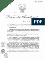 Rm526-2011-Minsa Normas Para La Elaboracion de Documentos Normativos