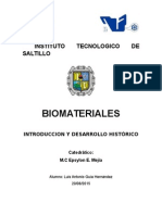 Historia Biomateriales