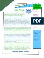 Mrs. Dick Newsletter #1