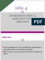 Introducción a ADO.NET con ASP.NET