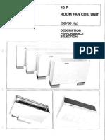Catalogo Fancoils Serie P