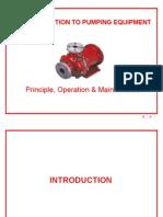 Basic Traning of Pumps