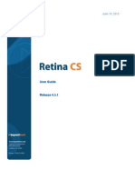 Retina CS Users Guide