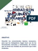 Capacitación Uso Seguro de Herramientas 12102012