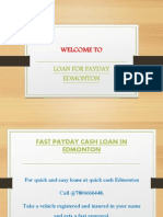 21 August QuickcashEdmonton