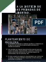 Acceso a la justicia en el sistema penitenciario chileno